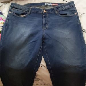 Comfort slim straight jeans